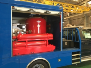 Truck Mounted Dry Chemical Fire Fighting Skid