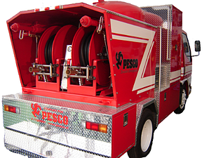 Dry Chem Unit for Industrial Fire Fighting, Apparatus and Rescue Mount