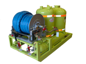 twin agent dry chemical afff arff fire system