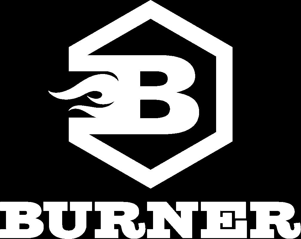 BurnerFire - Logo - white