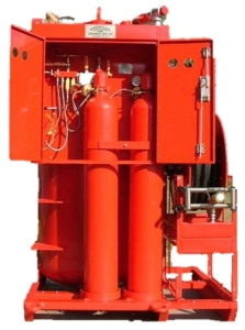 AFFF Foam Fire Protection Hose Reel Offshore