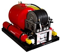 Compressed Air Foam CAFS 100 fire protection