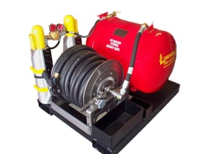 CAFS compressed air foam fire protection 60