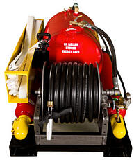 Compressed Air Foam CAFS 60 gallon with preconnect by Burner