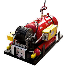 Compressed Air Foam 200 Gallon CAFS fire protection